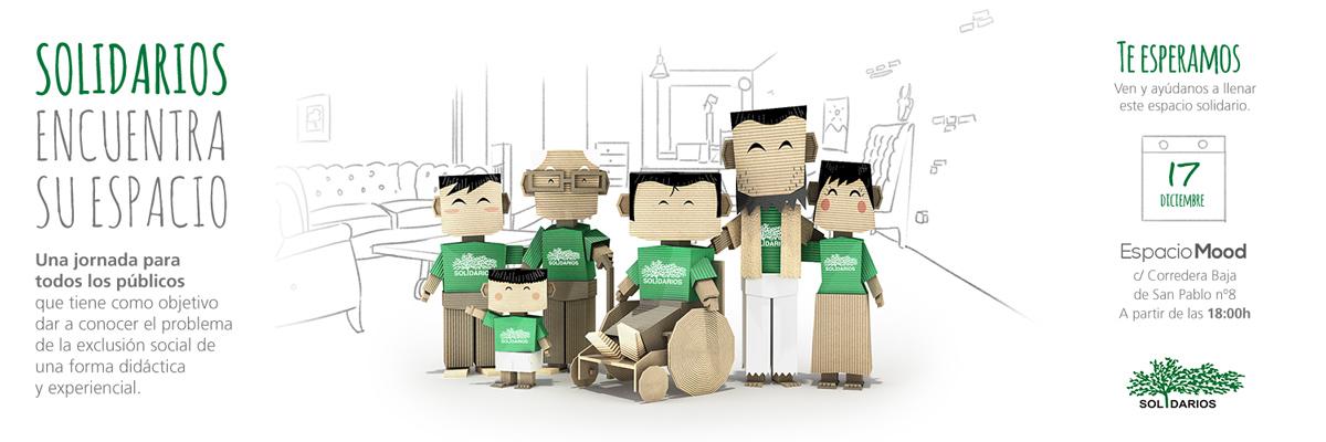 Flyer familia Solidarios