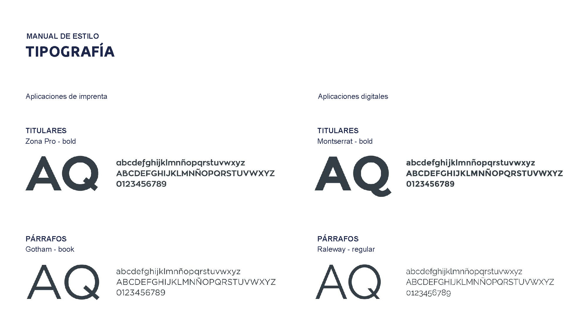 Tipografía corporativa de Avertum