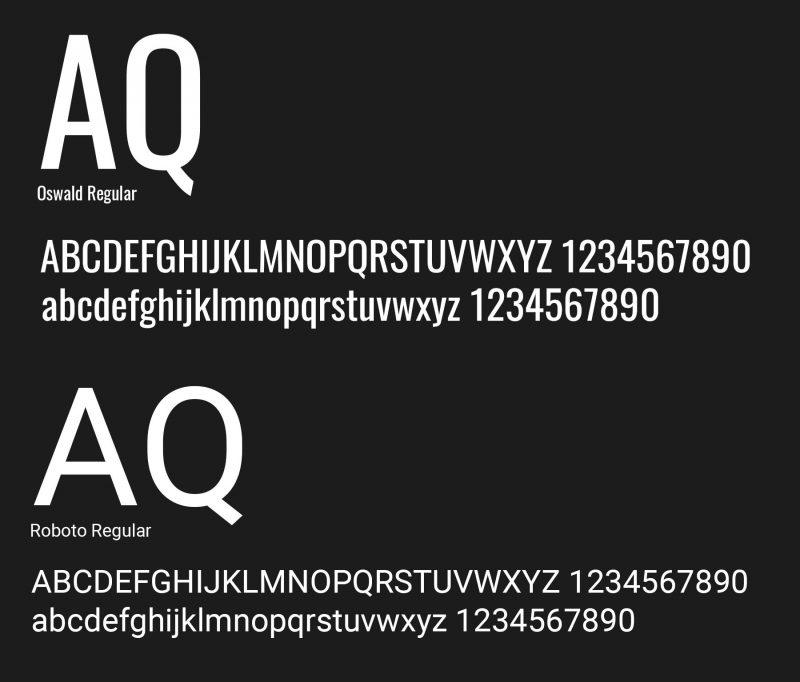 tipografía web ONU by Reaktiva