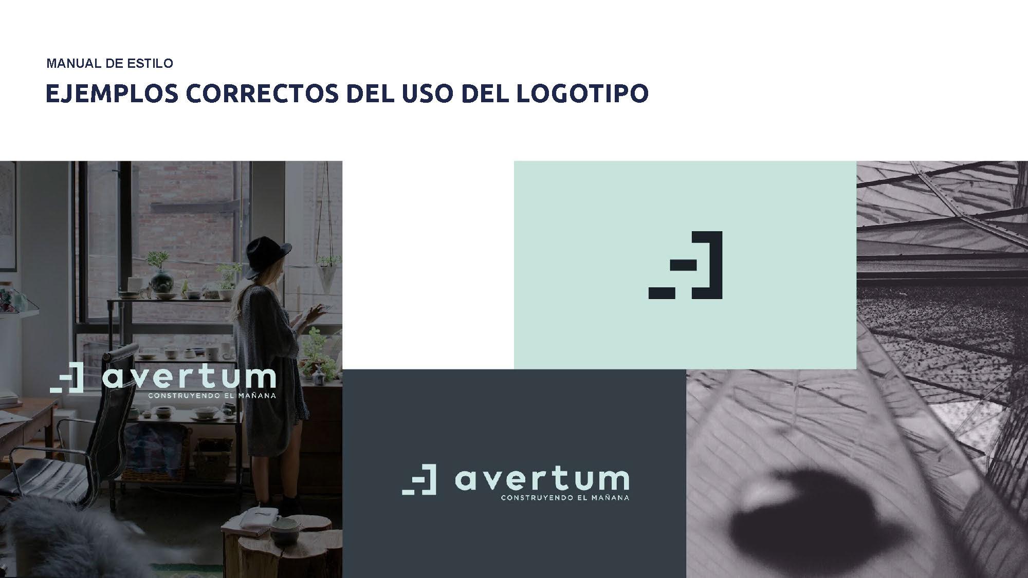Ejemplos de aplicación de la identidad de Avertum by Reaktiva